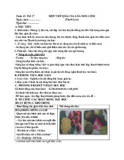 Giáo án ngữ văn lớp 7 Tuần 15 Tiết 57: Một thứ quà của lúa non: Cốm mới nhất