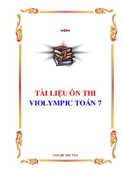 Đề thi Violympic Toán 7