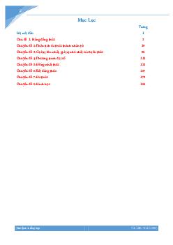 Các chuyên đề bồi dưỡng học sinh giỏi lớp 8