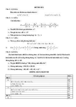 Tuyển tập đề thi học sinh giỏi toán lớp 8